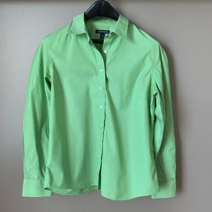 Lands' End Long Sleeve Blouse